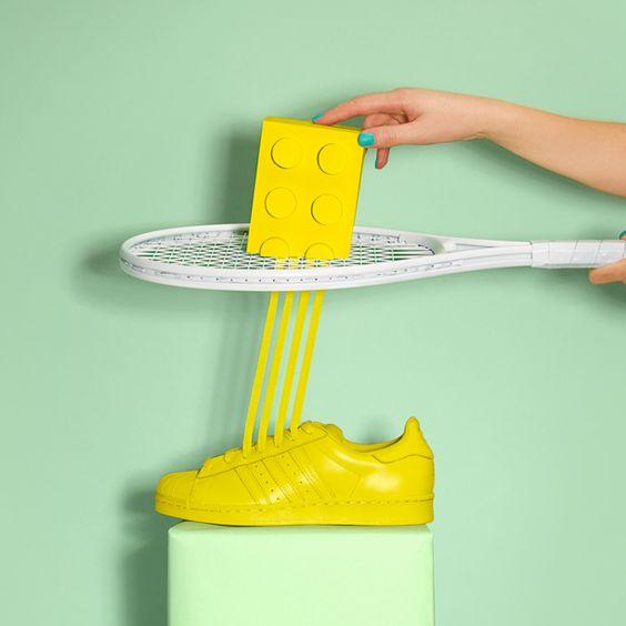 Adidas Supercolor Jaune Fluo
