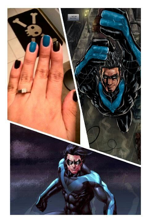 Nightwing fingerstripes