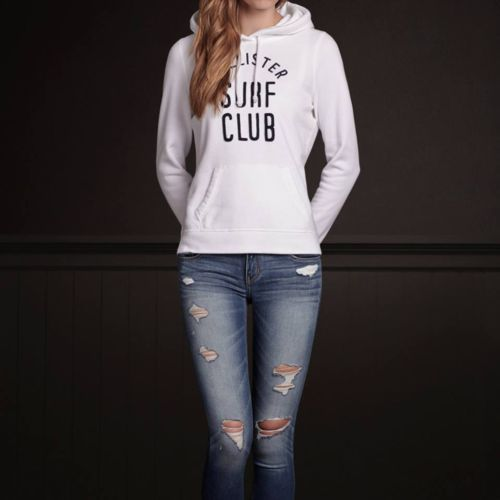 hollister hco w... Hollister Sweaters For Girls Grey