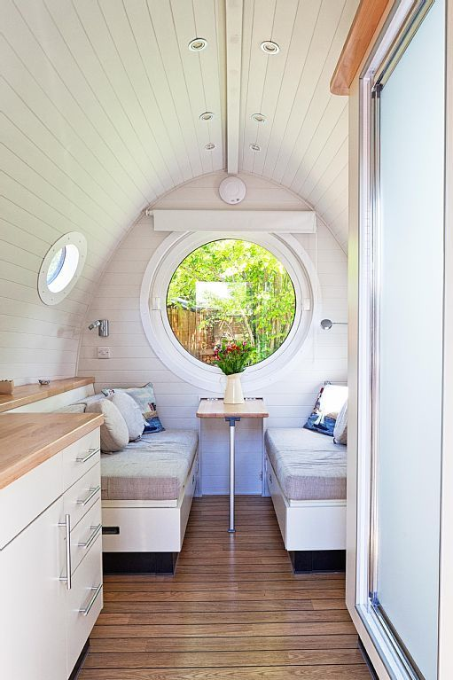garden pod tiny house vacation rental 0003b Tiny House Vacations