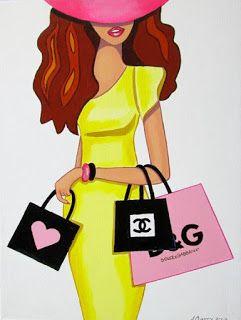 Julies retro Art page: Girls and their fashion: