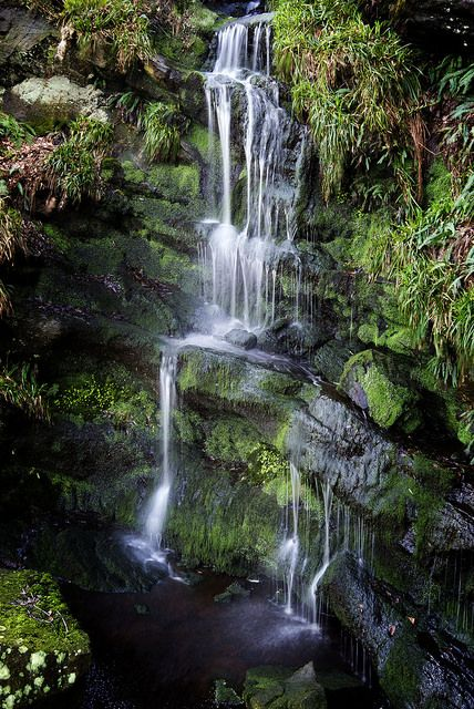 Well worth a walk to see this trickling waterfall.
