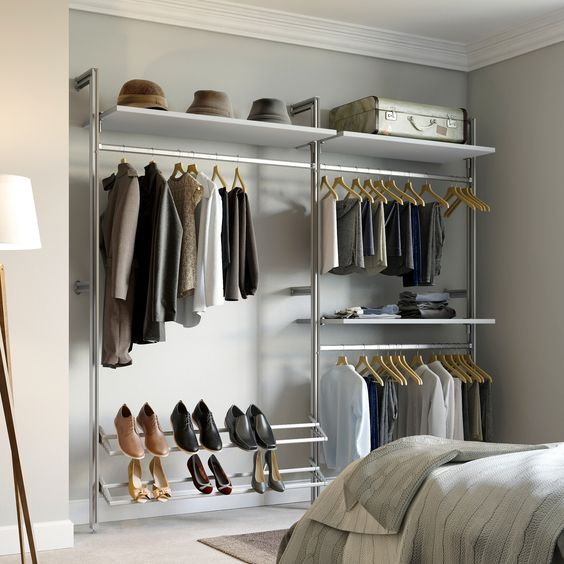 Design Wohnwand Straight ~ Space pro relax  ft tuxedo intermediate closet kit us rel kit tx at