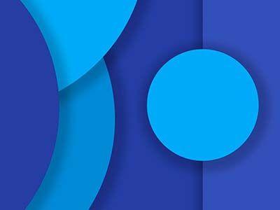 Blue Material Design