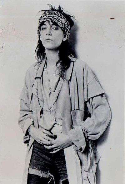 Patti Smith. So badass.: