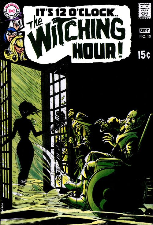 I'm sorry i wasn't around for killer, classic horror comics. The Witching Hour 10, September 1970, cover by Neal Adams.