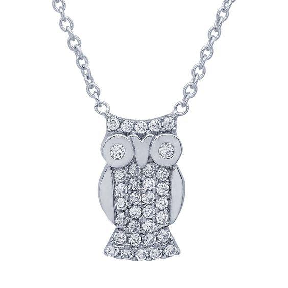 Miss CRISLU Owl Necklace