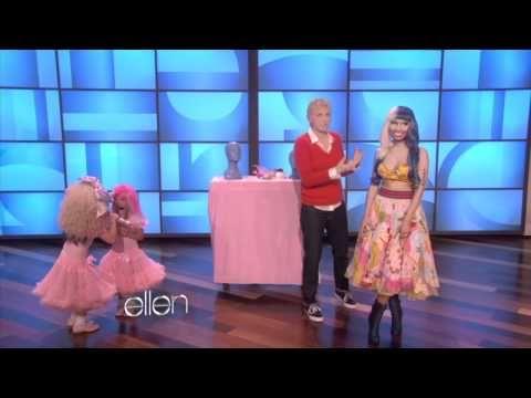 Sophia and Rosie Sing with Nicki Minaj: Nicki Minaj, Rosie Sing