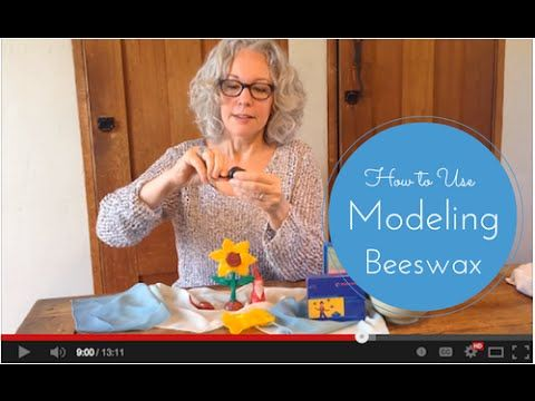 How to Use Waldorf Modeling Beeswax -  A Video Tutorial with Sarah Baldwin, Waldorf teacher and owner of Bella Luna Toys