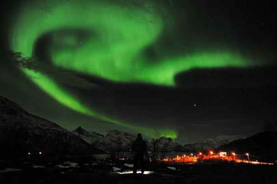 L'aurora boreale in salotto