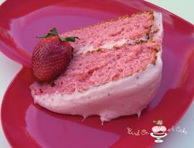 Bird On A Cake: A Strawberry Cake Valentine