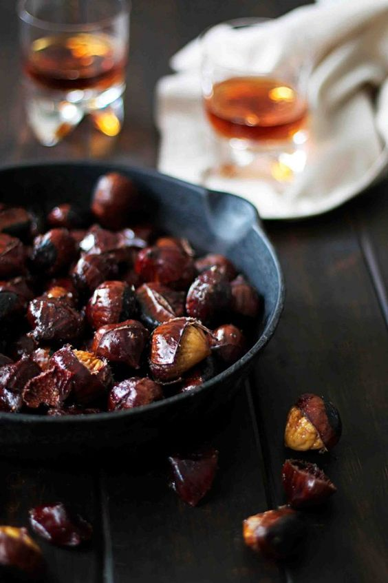Maple Butter Roasted Chestnuts