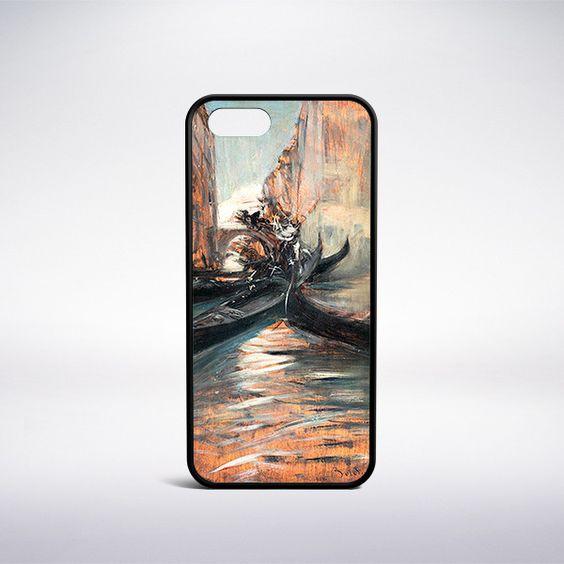 Giovanni Boldini - Canale A Venezia Con Gondole Phone Case