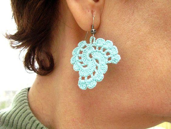 ... tutorial crochet dangle earrings crochet tutorials crochet patterns