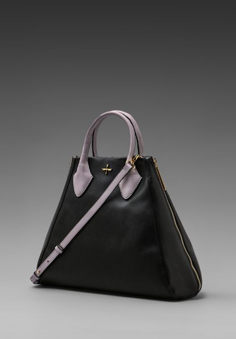 POUR LA VICTOIRE Yves Medium Tote in Black at Revolve Clothing - Free Shipping!