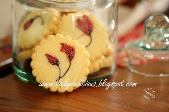 dailydelicious: さくらクッキ:Sakura cookies