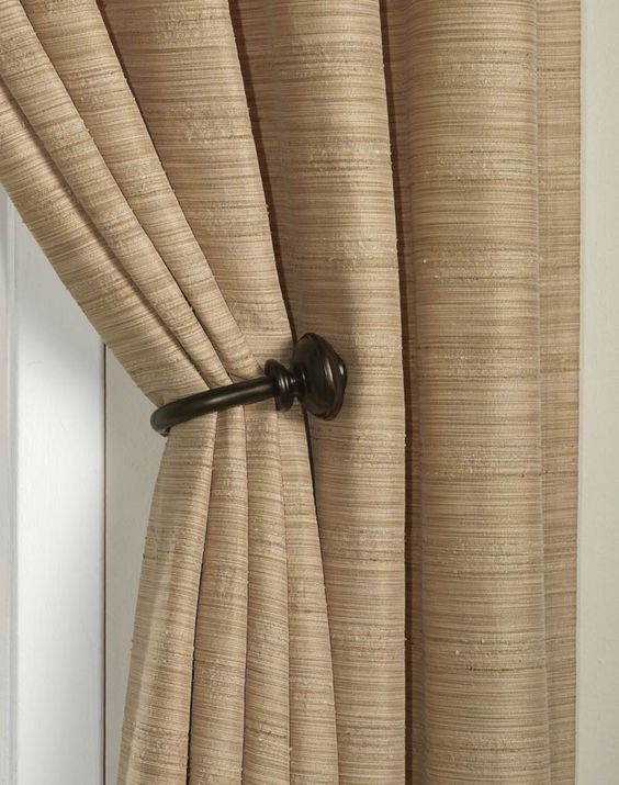 Curtains Ideas curtain holdback ideas : Tips And Ideas How To Install Curtain Holdbacks For Home Interior ...