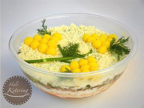 Salate za slavu mimoza