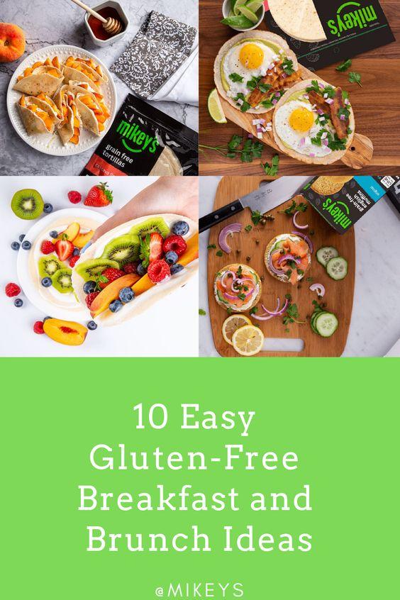 10 Easy Gluten-Free Breakfast and Brunch Ideas