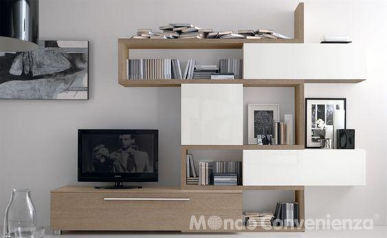s 300 - soggiorni - moderno - mondo convenienza | mobili per la ... - Mobili Televisione Mondo Convenienza