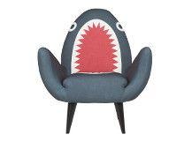 Rodnik, fauteuil, requin