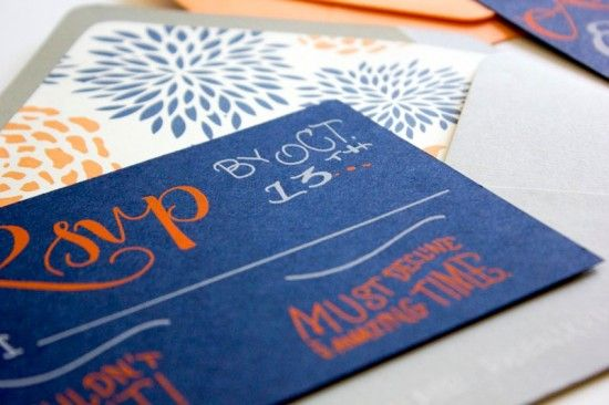 Hand Lettered Wedding Invitations by Faye + Co. via Oh So Beautiful Paper (4)