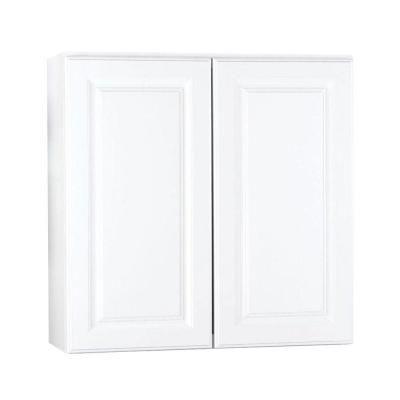 Best Hampton Bay 30X30X12 In Hampton Wall Cabinet In Satin 400 x 300