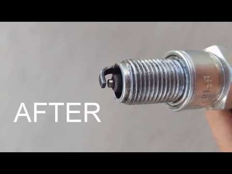 How To Clean A Spark Plug In 1 Minute Youtube Zundkerze