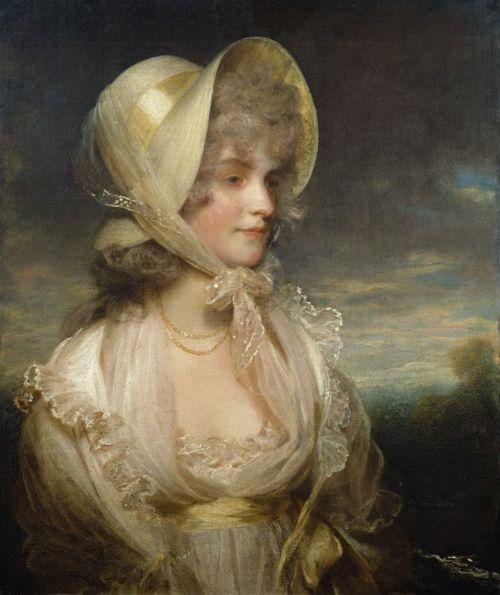 The Honourable Lucy Byng by John Hoppner, late 18th century: