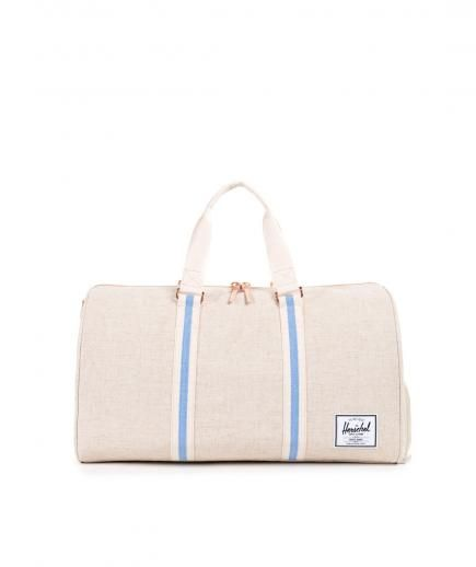 Herschel Novel Duffle Natural Hemp | Whether you're going on a long haul trip or a quick jaunt to the country, count on these brilliant styles to take you there.