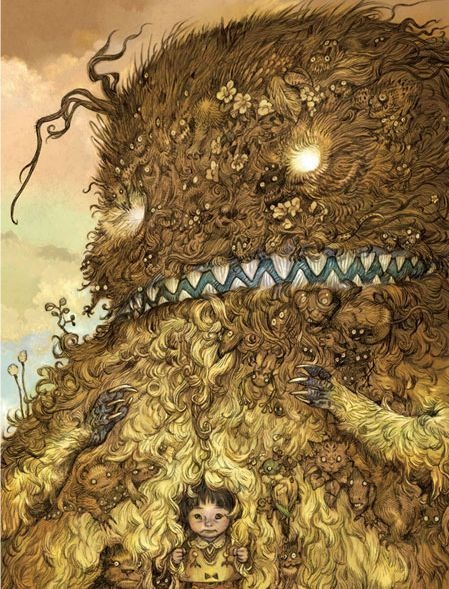 By Katsuya Terada for the Totoro Forest Project.
