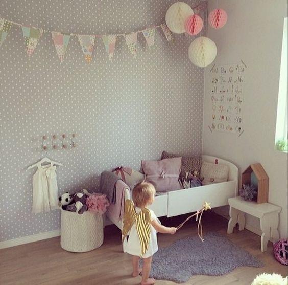 Fotos de habitaciones infantiles 10 ideas de inspiraci n - Habitaciones nordicas ...