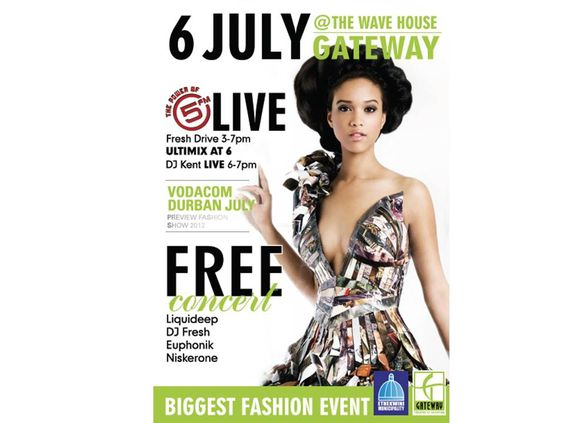 Don't miss the greatest fashion event! And FREE concert...