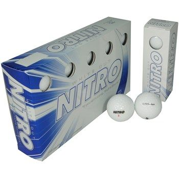 Nitro White Out Golf Ball Balls purchase from Globalgolf.com on discounted prices by using coupon and promo codes.