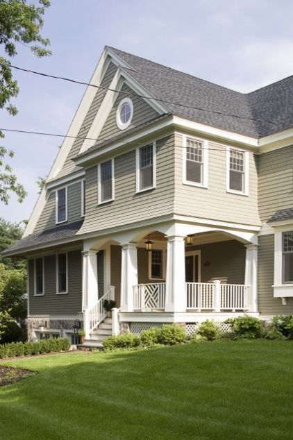 Try This Grant Beige Hc 83 Simply White Oc 117 Ben Moore Exterior Paint Colors