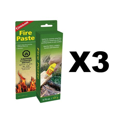 Coghlan's Fire Paste (3-Pack)