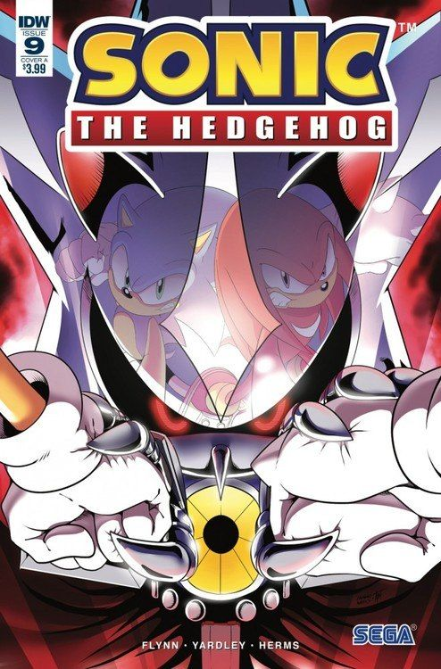 Sonic The Hedgehog Vol 3 9 Cover A Nm 2018 Idw Sonic The Hedgehog Sonic Hedgehog