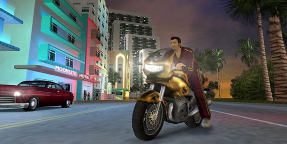 Grand Theft Auto: Vice City Goes Mobile In December, #video# #video game#