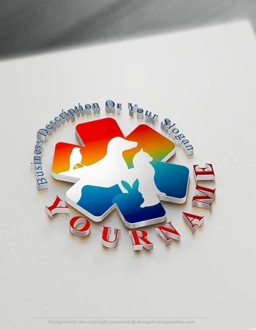 Veterinarian Logo Design Free Veterinary Logo Maker Online