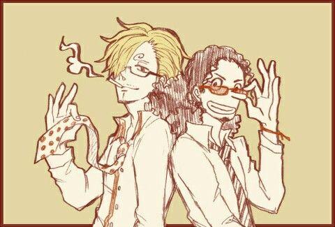 Sanji and Usopp, the best partner for u