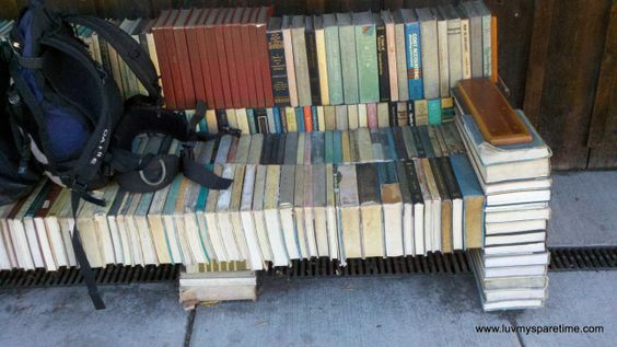 Old Books Transformed into Furniture Art
