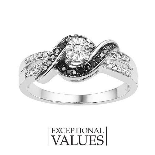 Black and White Diamond Promise Ring Fresh Picks Pinterest
