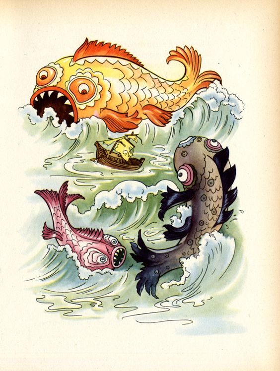 """""""Sindbad il marinaio"""", riduzione di Maria Luisa Moratti, Bologna, CELI, 1958, 94 p., con illustrazioni di Felicitas Kuhn-Klapschy"""