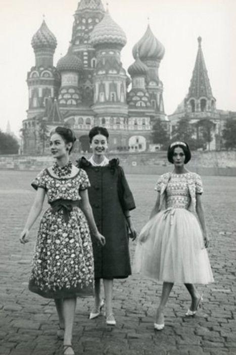 Models in Russia, 1950s: