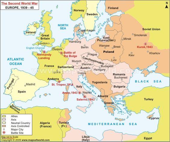 World War Maps Google Search World War Ii Maps Pinterest Map Of Europe During Ww2