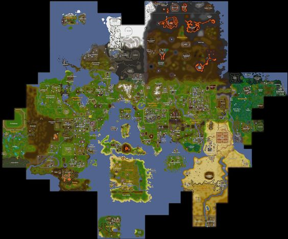8 best Gameforumer images on Pinterest Video game, Video games and - new osrs world map in game