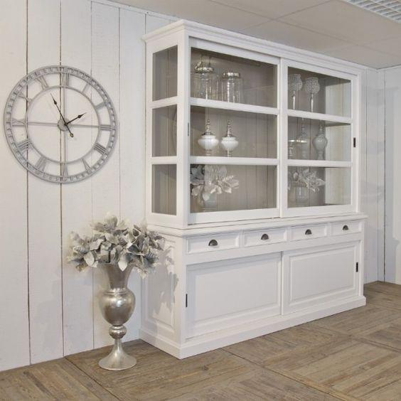 Interieuridee n buffetkast van jipmeubelen door marieke35 buffetkast pinterest deuren - Eigentijdse woonkamer decoratie ...