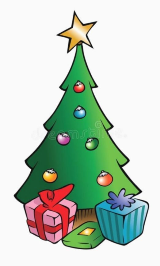 Christmas Tree Cartoon Wallpaper Christmas2015 Christmaslights Christmas In 2020 Christmas Trees For Kids Christmas Tree With Presents Christmas Budget Ideas