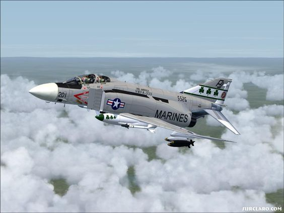 F-4 Phantom - Baddest ever - proved with enough thrust you can make a brick fly