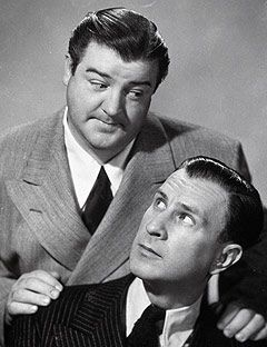 Abbott and Costello... It is Amazing how smart and creative comedians were back…